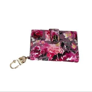 NEW Betsey Johnson XO Leah Floral Wallet Card Case